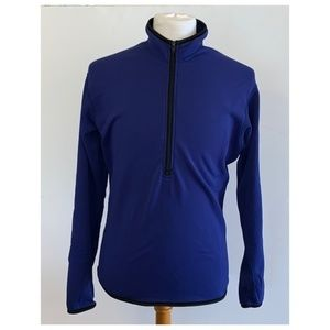 REI 1/2 Zip Royal Blue Fleece Pullover